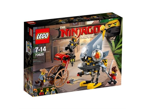 70629 LEGO® NINJAGO Piranha-Angriff*:   Hilf Kai und Misako und rettet Ray vor den Piranhas in NINJAGO® City! Der Ga