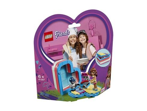 """41387 - LEGO® Friends - Olivias sommerliche Herzbox:   Kinder können sich mit dem LEGOFriendsSet """"Olivias sommerliche Herzbox"""" (4"""