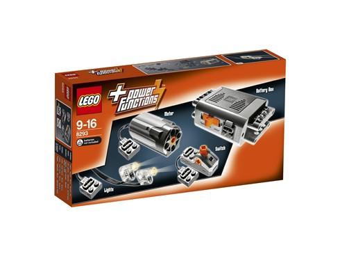 8293 LEGO® Technic Power Functions Tuning-Set:   Mit diesem tollen Ergänzungs-Set kannst du deine eigenen LEGO Kreationen zum