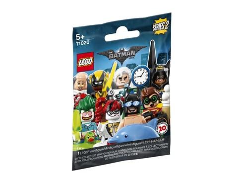 71020 LEGO® Minifigures:   Erlebe knallharte Action mit der THE LEGO® BATMAN MOVIE Serie 2 Sammlung mit