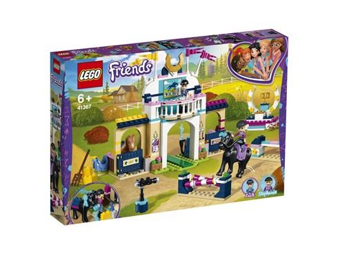41367 LEGO® Friends Stephanies Reitturnier:   Sei bereit für ein Springreitturnier mit Stephanie und Zack. Hilf ihnen, ihr