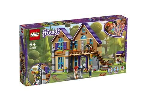 41369 LEGO® Friends Mias Haus mit Pferd:   Triff Mia und ihre Familie in ihrem hübschen LEGO®FriendsHaus im Wald. Unt