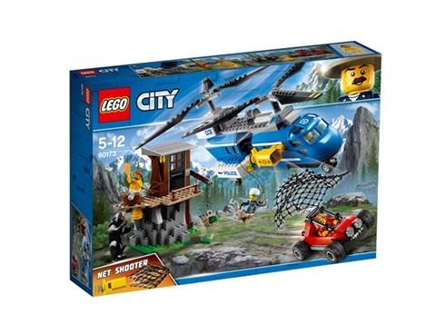 60173 LEGO® City Festnahme in den Bergen:   Mach dich mit dem Polizeihubschrauber auf die Suche nach den Räubern in ihre