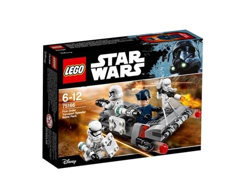 75166 LEGO® Star Wars™ First Order Transport Speeder Battle Pac*:   Mit dem First Order Transport Speeder Battle Pack kannst du die Stormtrooper