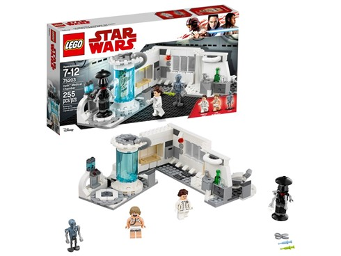75203 LEGO® Star Wars™ Heilkammer auf Hoth™*:   Spiel die spannenden Actionszenen auf dem Eisplaneten Hoth mit dem LEGO® Sta