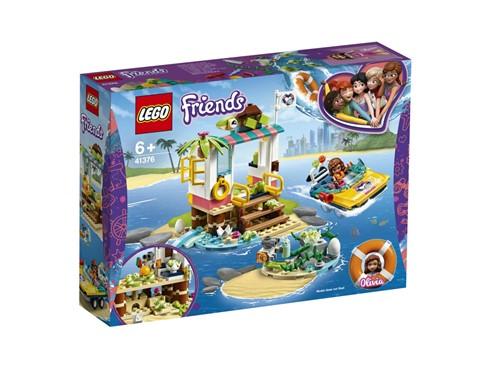 """41376 - LEGO® Friends - Schildkröten-Rettungsstation:   Kinder werden mit dem LEGO®FriendsInselspielset """"Schildkröten-Rettungsstat"""