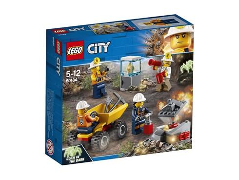 60184 LEGO® City Bergbauteam:   Mach dich auf den Weg zum LEGO® City Bergwerk und such dort nach etwas Glänz