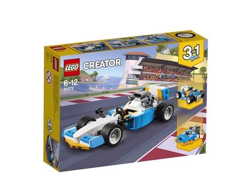 31072 LEGO® Creator Ultimative Motor-Power:   Klettere ins Cockpit des Rennwagens. Der Flitzer verfügt über einen großen H