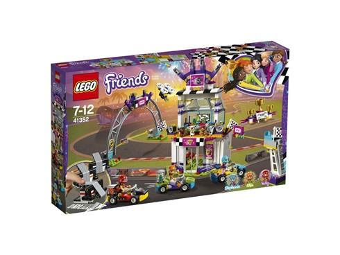41352 LEGO® Friends Das große Rennen:   Das LEGO® Friends Set Das große Rennen (41352) bietet die perfekte Kulisse,