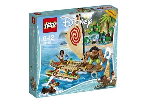 41150 LEGO® Disney Princess™ Vaiana auf hoher See*:   Entdecke die lebhafte Welt von Disneys Vaiana und begleite sie auf ihr spann