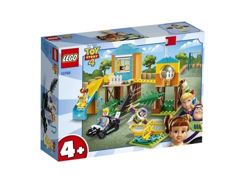 """10768 - LEGO® 4+ - Buzz & Porzellinchens Spielplatzabenteuer:   Zeige deinem Kind mit diesem wunderbaren LEGO® 4+ Bauset """"Buzz & Porzellinch"""