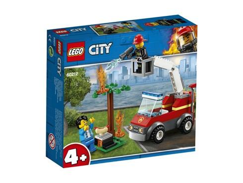 60212 LEGO® City Feuerwehr beim Grillfest:   Schnappe dir deinen Helm und deine Feuerwehrausrüstung – Zeit für heldenhaft