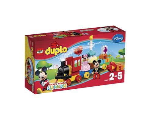 10597 LEGO® DUPLO® Geburtstagsparade:   Alle einsteigen in den Geburtstagszug aus der Modellreihe Micky Maus Wunderh