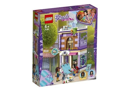 41365 LEGO® Friends Emmas Künstlerstudio:   Verbringe deinen Tag in Emmas Künstlerstudio und werde zusammen mit LEGO®Fr