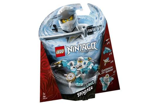 70661 LEGO® NINJAGO Spinjitzu Zane:   Zeige mit SpinjitzuZane deine coolen Ninja-Fähigkeiten! Setze die LEGO®NIN