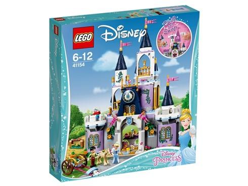 41154 LEGO® Disney Cinderellas Traumschloss:   Spiele nach, wie Cinderella und der Märchenprinz in ihrem Schloss leben. Hil