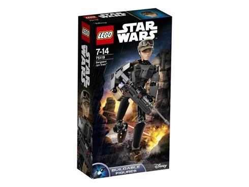 75119 LEGO® Star Wars™ Sergeant Jyn Erso™:   Diese Angehörige der Rebellen ist mit allen Wassern gewaschen und bereit, es