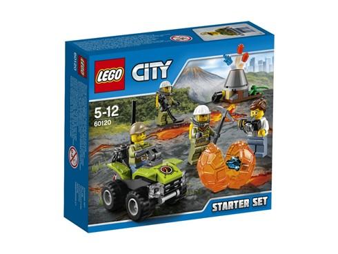 60120 LEGO® City Vulkan Starter-Set:   Begleite das Team aus Vulkanforschern und Wissenschaftlern auf eine Expediti