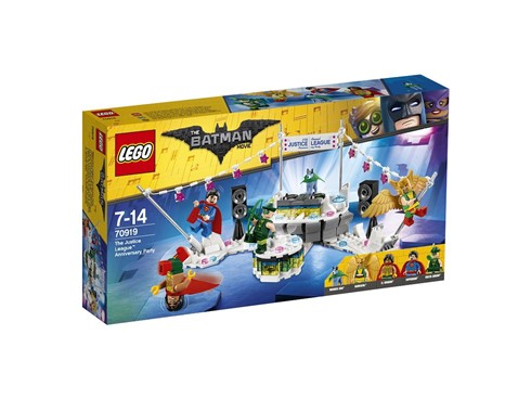 70919 The LEGO Batman Movie™ The Justice League™ Anniversary Party*:   Feiere das 57-jährige Bestehen der Justice League mit dem Set The Justice Le