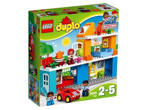 10835 LEGO® DUPLO® Familienhaus:   Mit LEGO® DUPLO® Meine Stadt – einer erkennbaren Welt mit modernen DUPLO Fig