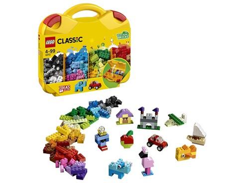 10713 LEGO® Classic LEGO® Bausteine Starterkoffer - Farben sortieren:   Sorg für Ordnung bei deinen LEGO® Steinen mit diesem cleveren, robusten LEGO