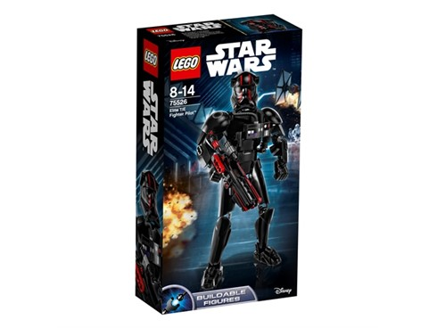 75526 LEGO® Star Wars™ 75526 ELITE TIE FIGHTER PILOT™*:   Mit dem Elite TIE Fighter Pilot kannst du dich auf megaspannende Action gefa