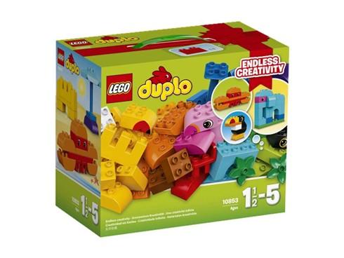 10853 LEGO® DUPLO® Kreativ-Bauset bunte Tierwelt:   Kleinen Entdeckern wird es riesige Freude bereiten, aus diesem großen Haufen