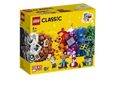 11004 - LEGO® Classic - LEGO Bausteine - kreativ mit Fenstern:   Kinder können allein oder mit ihren Eltern neue, kreative Wege erlernen, um