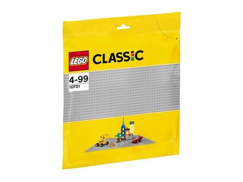 10701 LEGO® Classic Graue Grundplatte:   Ganz gleich, ob du einen Garten, eine Straßenkulisse, eine Burg oder ein eig