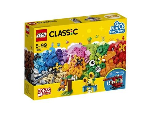 10712 LEGO® Classic LEGO® Bausteine-Set - Zahnräder:   Baue mit diesem tollen LEGO® Classic Set eine aufregend bunte Welt mit beweg