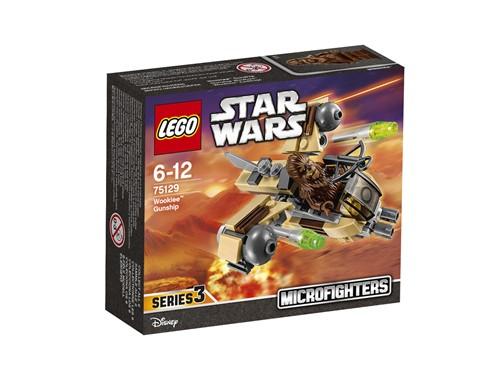 75129 LEGO® Star Wars™ Wookiee™ Gunship:   Bei einer Invasion feindlicher Streitkräfte muss unbedingt die Microfighter-
