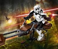 75532 LEGO® Star Wars™ Scout Trooper™ & Speeder Bike™*:   Rase mit dem fantastischen Scout Trooper und dem Speeder Bike über ferne Pla