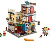 "31097 - LEGO® Creator - Stadthaus mit Zoohandlung & Café:   Mit dem LEGO®Creator 3-in-1-Set ""Stadthaus mit Zoohandlung& Café"" (31097)"