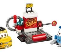 10732 LEGO® Juniors Guido und Luigis Pit Stopp:   Viel Spaß mit dem großherzigen Guido und seinem besten Freund Luigi, die dar