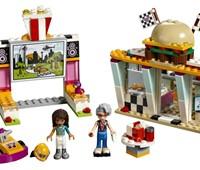 41349 LEGO® Friends Burgerladen:   Das LEGO® Friends Set Burgerladen (41349) enthält einen Burger-Grill, Fenste