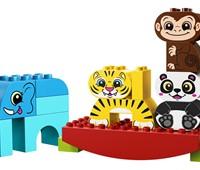 """10884 LEGO® DUPLO® Meine erste Wippe mit Tieren:   Kleine Kinder werden jede Menge Spaß dabei haben, das LEGO®DUPLO® Set """"Mein"""