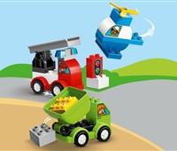 10886 LEGO® DUPLO® Meine ersten Fahrzeuge:   Kindergartenkinder werden es lieben, bunte Fahrzeuge mit dem LEGO®DUPLO® Se