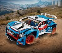 42077 LEGO® Technic Rallyeauto:   Begib dich mit diesem eindrucksvollen LEGO® Technic Rallyeauto in die aufreg