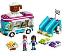 41319 LEGO® Friends Kakaowagen am Wintersportort*:   Kauf dir einen köstlichen heißen Kakao mit leckerer Sahnehaube, um dich drau