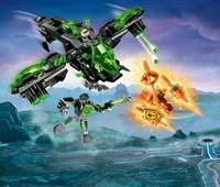 72003 LEGO® Nexo Knights Berserker-Flieger*:   Nimm dich vor dem bösen fliegenden Auge in Acht! Zu spät ... der Berserker-F
