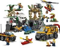 60161 LEGO® City Lego City Dschungel-Forschungsstation*:   Bei der Dschungel-Forschungsstation gibt es viele erstaunliche Dinge zu entd