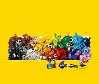 11003 LEGO® Classic LEGO Bausteine - Witzige Figuren:   Erlebe beim Bauen sämtlicher Figuren mit vielen verschiedenen Augen jede Men