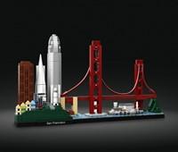 21043 LEGO® Architecture San Francisco:   Fangen Sie die prächtige Vielfalt der Architektur San Franciscos ein – mit d