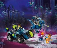 """70826 The LEGO Movie™ 2 Rex' """"Rextremes"""" Offroad-Fahrzeug:   Hilf Rex und Emmet dabei, das     THELEGO®MOVIE2™ 3-in-1-Set """"Rex'"""