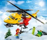 60179 LEGO® City Rettungshubschrauber:   Pack deine Ausrüstung, spring in den Rettungshubschrauber und heb ab! Jemand