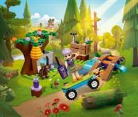 41363 LEGO® Friends Mias Outdoor Abenteuer:   Begleite LEGO®Friends Mia auf ein Abenteuer im Wald. Auf ihrem hölzernen Be