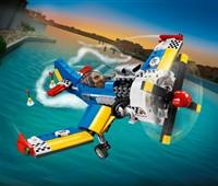 31094 LEGO® Creator Rennflugzeug:   Erobere den Himmel – mit dem tollen LEGO®Creator 3-in-1 Rennflugzeug in Bla