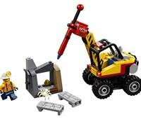 60185 LEGO® City Power-Spalter für den Bergbau:   Klettere an Bord des Power-Spalters für den Bergbau und mach dich auf ins Be
