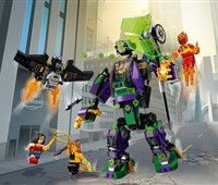 76097 LEGO® DC Universe Super Heroes™ Lex Luthor™ Mech*:   Flieg mit Batmans Batgleiter los, um es mit dem Lex Luthor™ Mech aufzunehmen