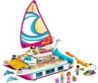 41317 LEGO® Friends Sonnenschein-Katamaran*:   Geh an Bord dieses Luxuskatamarans auf eine supercoole Kreuzfahrt! Entspann